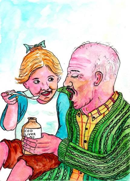 You Take It First Grandpa Okay Art Print