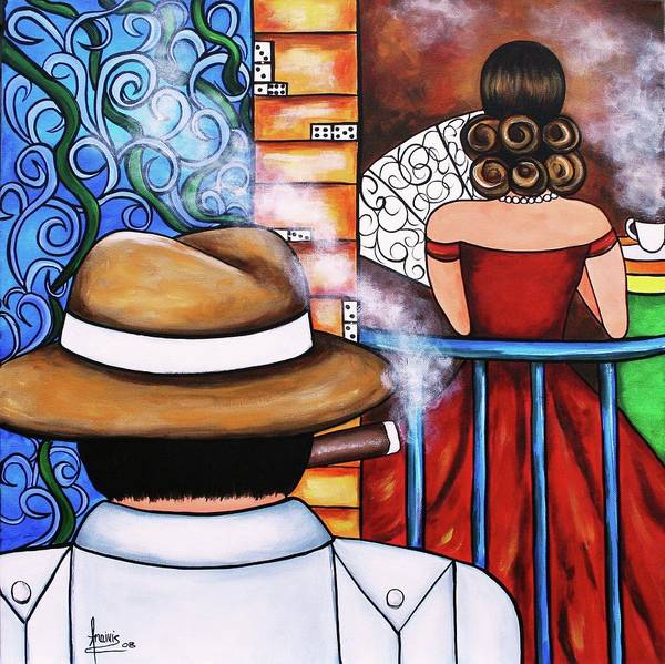 Wall Art - Painting - You Take My Breath Away by Annie Maxwell