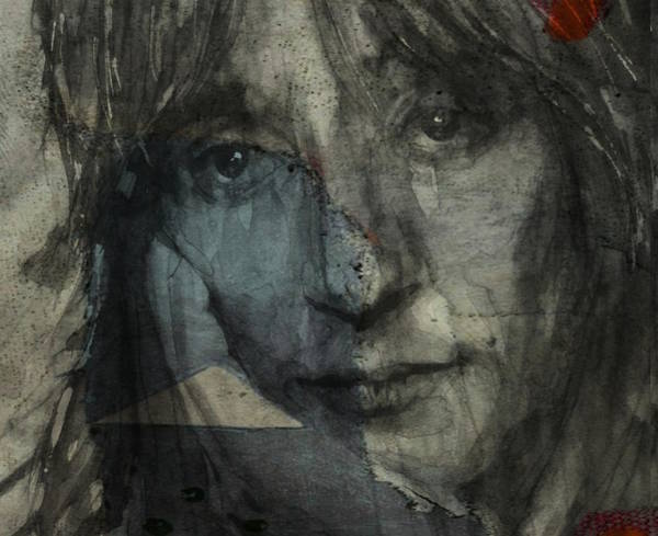 Wall Art - Mixed Media - You Wear It Well - Rod Stewart  by Paul Lovering