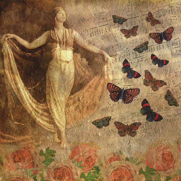 Mixed Media - You Were Always A Dancer At Heart by Peggy Collins