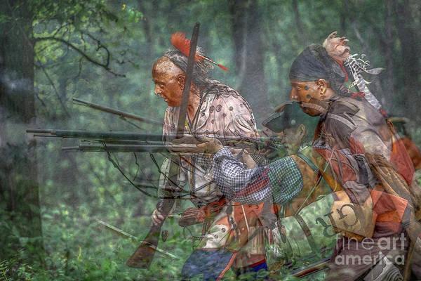 Musket Digital Art - You Were There...battle Of Bushy Run by Randy Steele