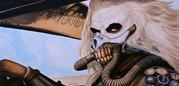 Wall Art - Painting - You Will Ride Eternal, Shiny And Chrome by Al  Molina