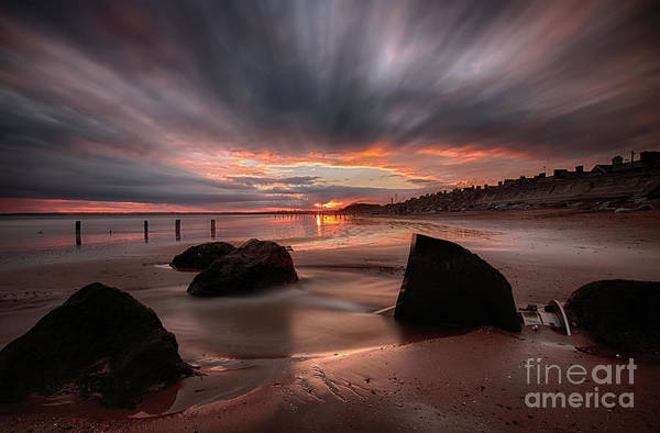 Photograph - Youghal Sunset 25 by Marc Daly