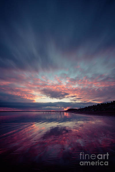 Photograph - Youghal Sunset 27 by Marc Daly