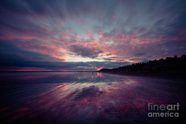 Photograph - Youghal Sunset 28 by Marc Daly