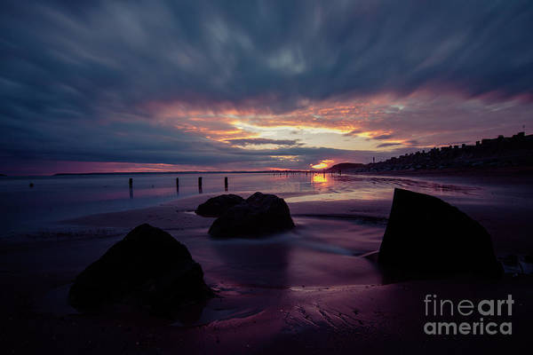 Photograph - Youghal Sunset 29 by Marc Daly