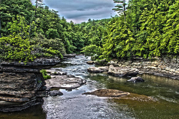Swallow Falls State Park Wall Art - Photograph - Youghiogheny by Daniel Houghton