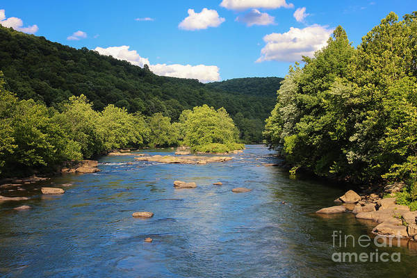Photograph - Youghiogheny River by Rachel Cohen