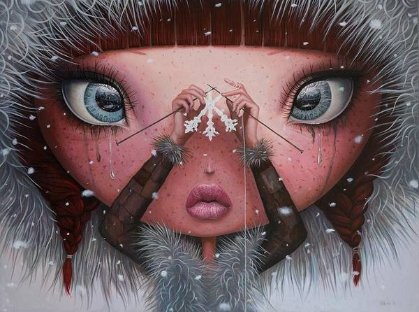 Fineart Painting - You'll Never Melt On Me Again by Adrian Borda