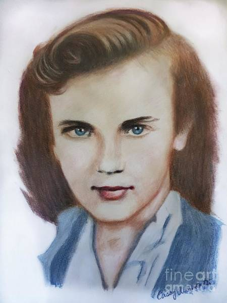 Drawing - Young Elizabeth  by Cassy Allsworth