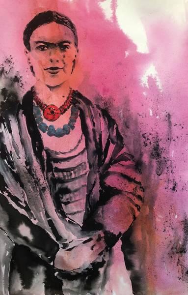 Painting - Young Frida by Tara Moorman