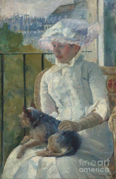 Cassatt Painting - Young Girl At A Window by Mary Stevenson Cassatt