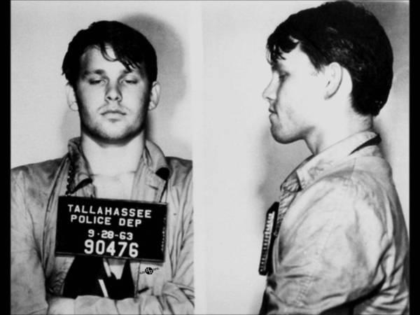 Photograph - Young Jim Morrison Mug Shot 1963 Photo by Tony Rubino