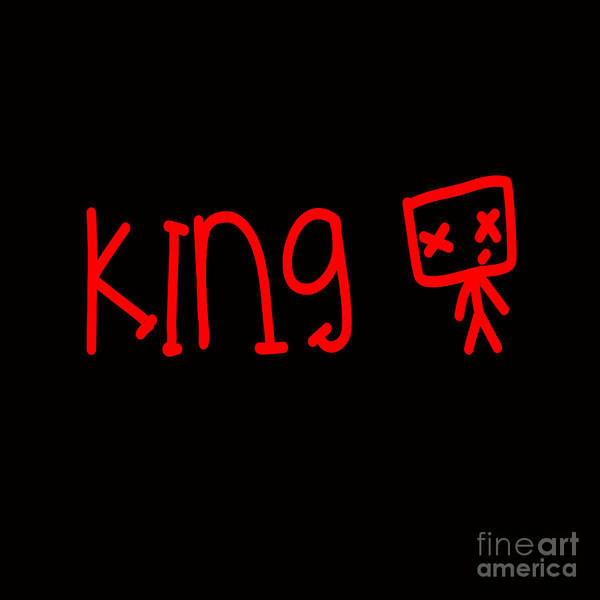 Wall Art - Digital Art - Young King by Respect the Queen