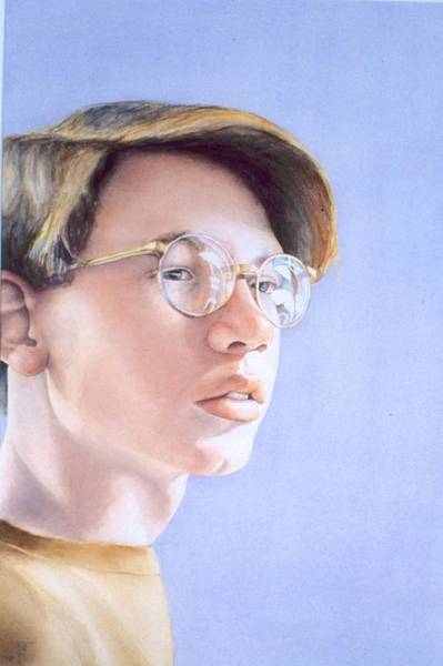 Painting - Young Nate by Barbara Pease