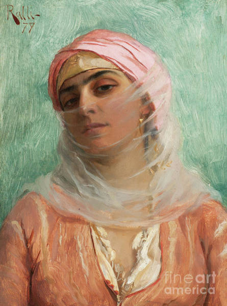 Wall Art - Painting - Young Ottoman by Theodore Jacques Ralli