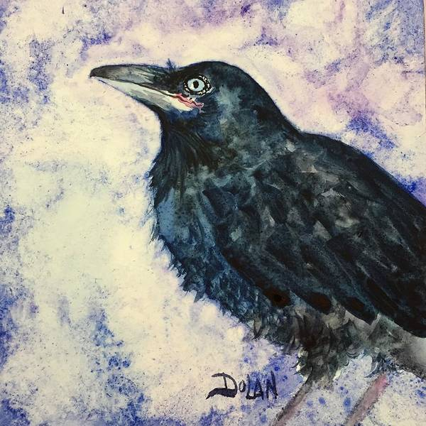 Painting - Young Raven by Pat Dolan