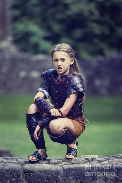 Cosplay Photograph - Young Warrior by Amanda Elwell
