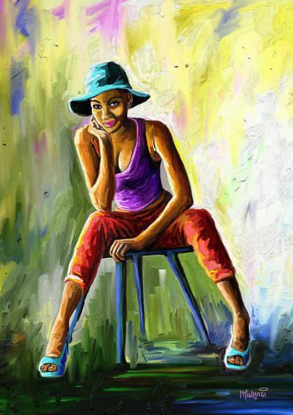 Perfect Body Painting - Young Woman by Anthony Mwangi