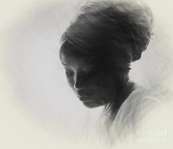 Wall Art - Photograph - Young Woman In Turban  by Sheila Smart Fine Art Photography