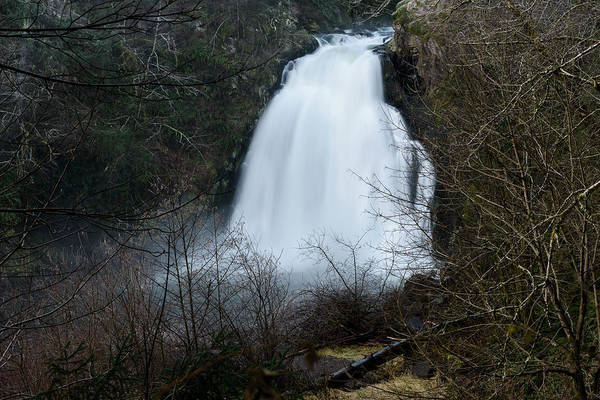 Photograph - Youngs River Falls Winter Flow by Robert Potts