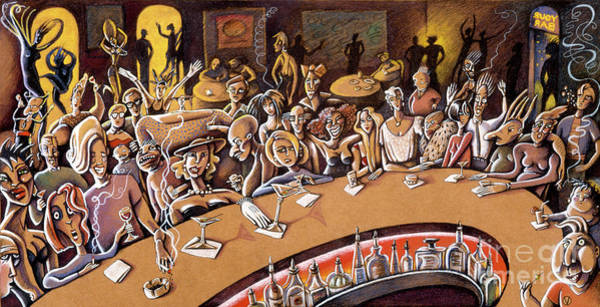 Drawing - Your Bar by Valerie White