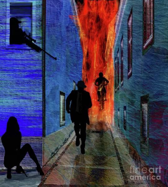 Suspense Digital Art - Your Fired by Sydne Archambault