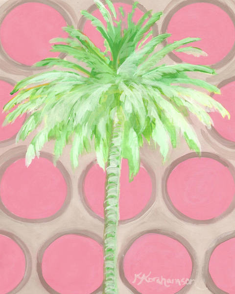 Painting - Your Highness Palm Tree by Kristen Abrahamson