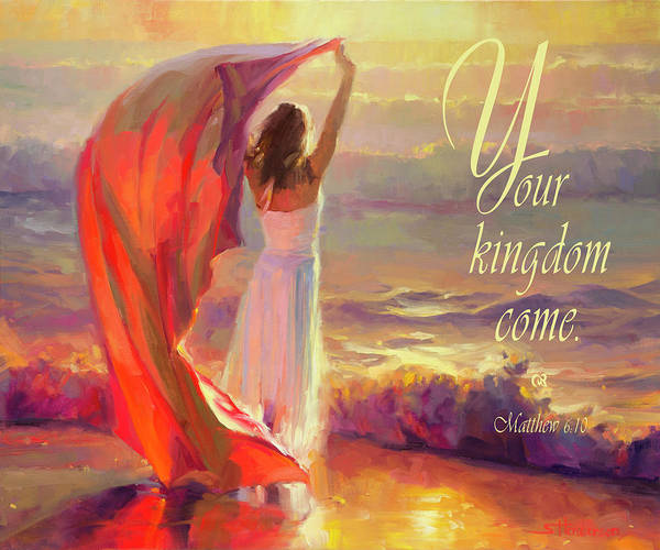 Worship Wall Art - Digital Art - Your Kingdom Come by Steve Henderson