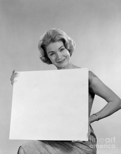 Endorsement Photograph - Your Message Here, C.1960s by H. Armstrong Roberts/ClassicStock