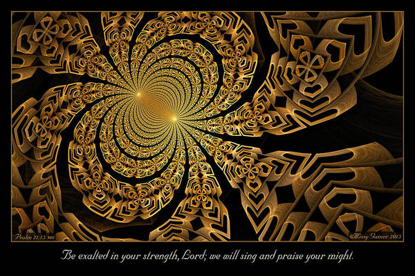 Digital Art - Your Might by Missy Gainer