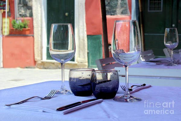 Wall Art - Photograph - Your Table Is Ready In Italy by Adam Long