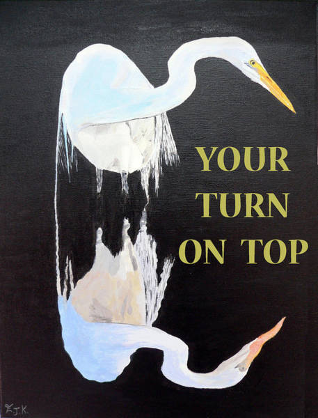 Painting - Your Turn On Top by Eric Kempson