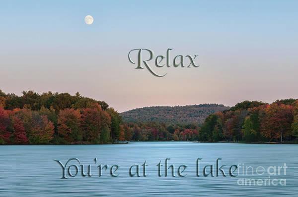 Photograph - You're At The Lake by Sharon Seaward