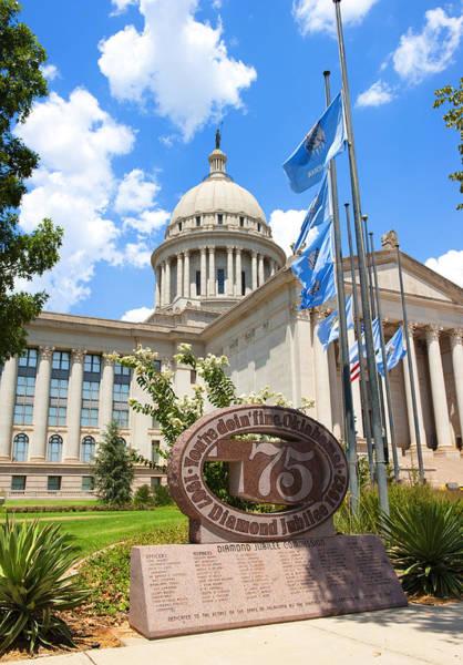 Legislature Photograph - You're Doin' Fine Oklahoma by Ricky Barnard