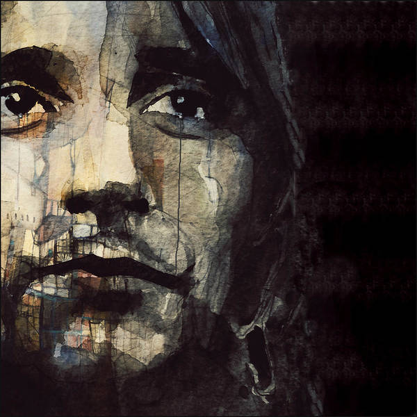 Wall Art - Painting - You're In My Heart  by Paul Lovering