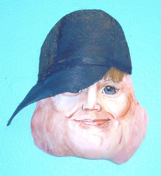 Caricature Mixed Media - Youth by Ellen Burns