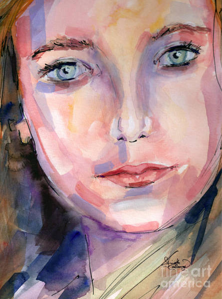 Painting - Youth Watercolor And Ink by Ginette Callaway