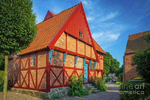 Europa Wall Art - Photograph - Ystad Old House by Inge Johnsson