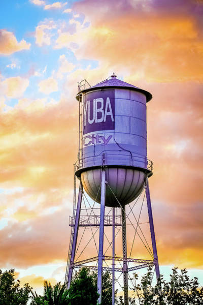 Plumas County Photograph - Yuba City Water Tower by Long Love Photography