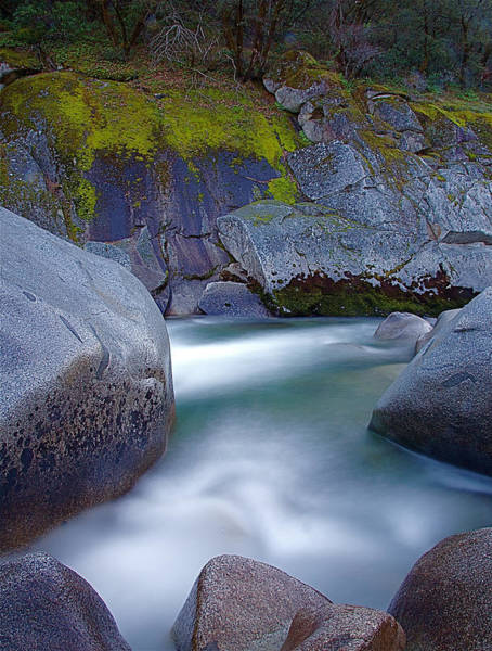 Yuba River Photograph - Yuba Flow by John Daly