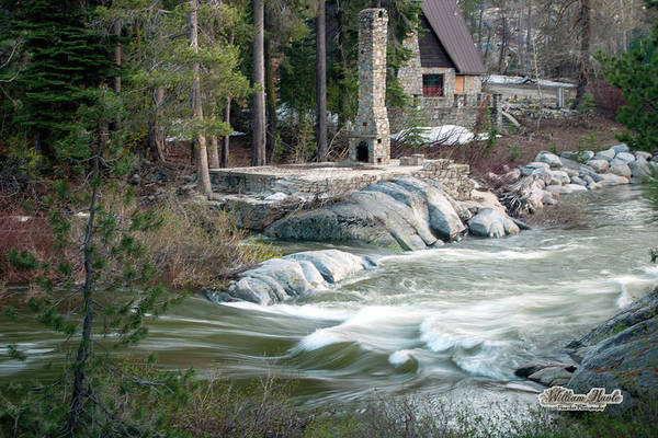 Photograph - Yuba River At Rainbow Lodge by William Havle