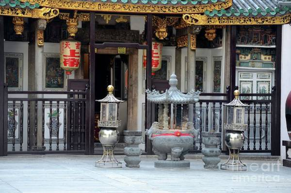 Photograph - Yueh Hai Ching Teochew Chinese Taoist Temple Phillip Street Singapore by Imran Ahmed