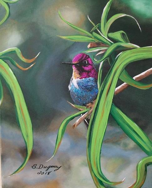 Painting - Yuma Hummer  by Sharon Duguay