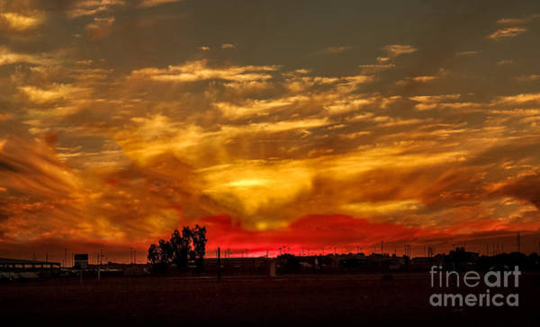 Yuma Photograph - Yuma Sunset by Robert Bales