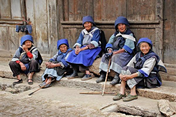Photograph - Yunnan Women by Marla Craven