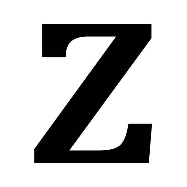 Serif Digital Art - Z In Black Typewriter Style by Custom Home Fashions