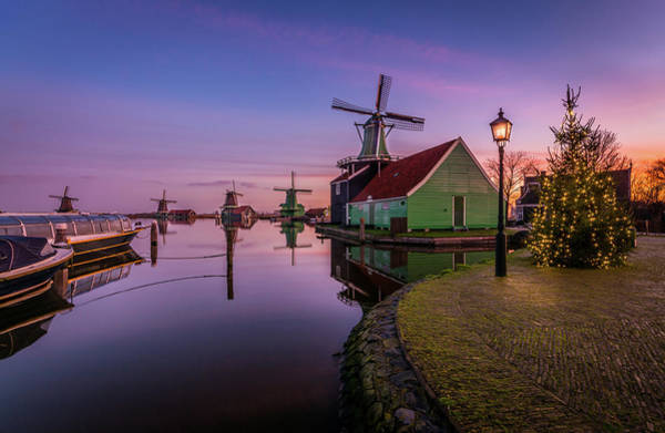 Photograph - Zaanse Schans Holiday  by Mario Visser