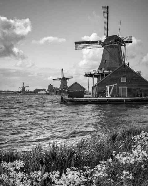 Photograph - Zaanse Schans Windmills by James Udall