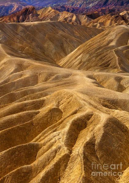Death Valley Photograph - Zabriskie Morning by Mike  Dawson